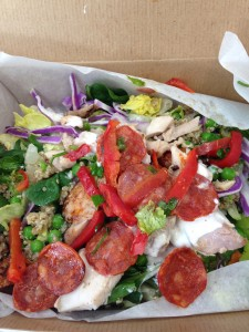 Chicken and Chorizo Club Superfood Salad