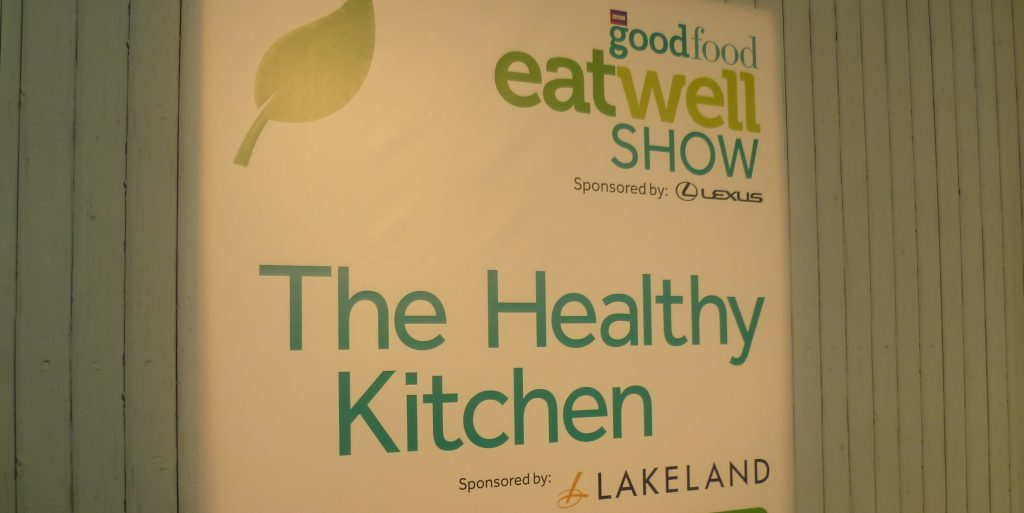 Eat Well Show Kitchen Sign