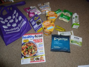 Healthy Food Gift Bag