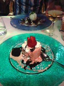 Dessert in Venice