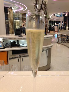 Champers at Searcys