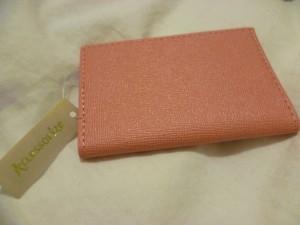 Accessorize Pink Card Holder
