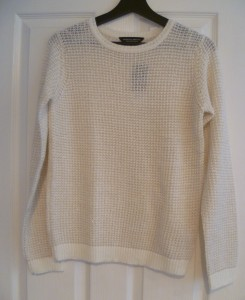 Dorothy Perkins Gold Stitch Jumper