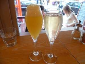 Bucks Fizz and Cava