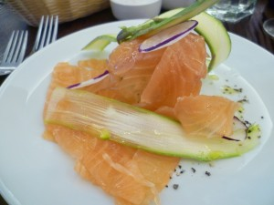 Brixton Cured Salmon with Asian Slaw