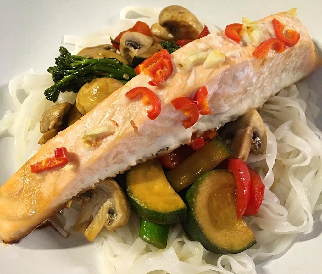 Chinese Style Salmon