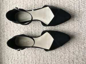 Black Pointy Ballet Shoes - New Look