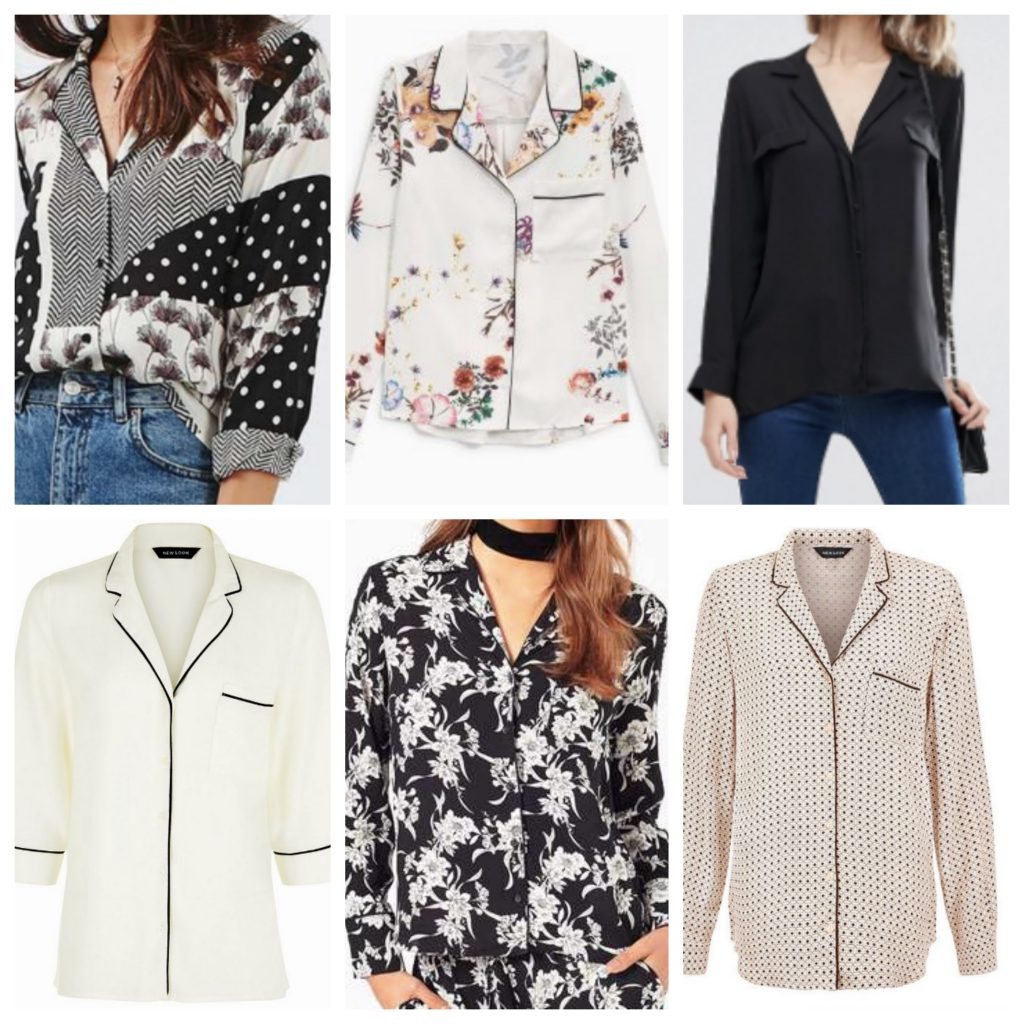 Pyjama Shirts Wishlist