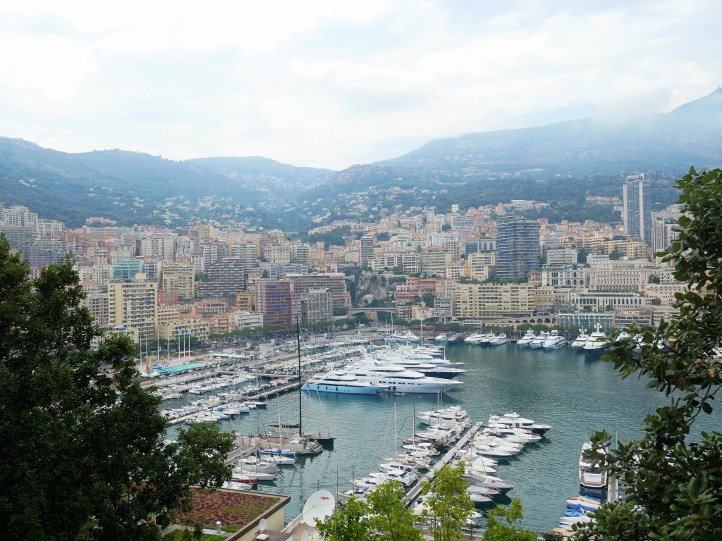 View from Monaco-Ville