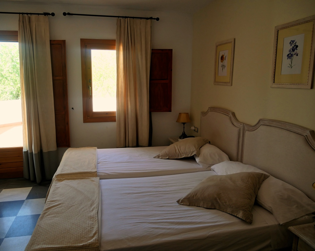 Bedroom at Hotel Villa de Laujar de Andarax