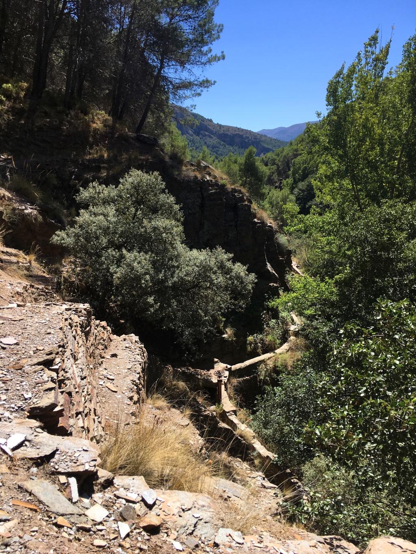 Sendero de la Hidroeléctrica en Laujar de Andarax