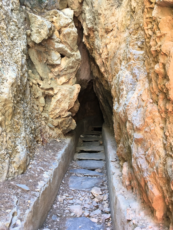 Tunnel in the Sierra Nevada