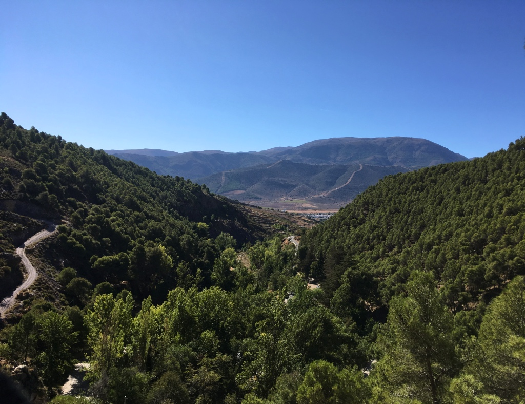 View whilst Hiking in the Sierra Nevada