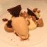 White Chocolate and Praline Mousse with Caramel