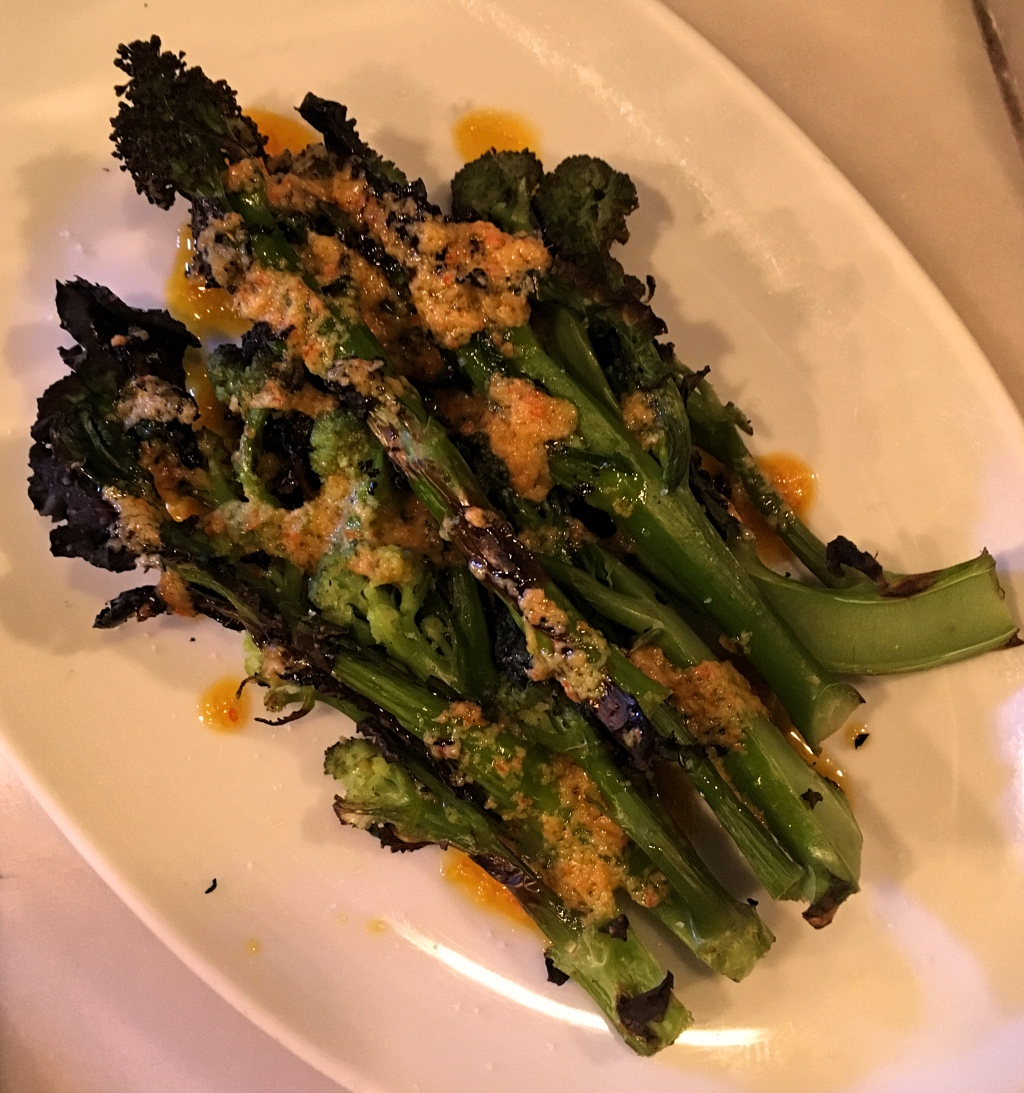 Chargrilled Tenderstem Broccoli with Ginger, Chilli & Garlic