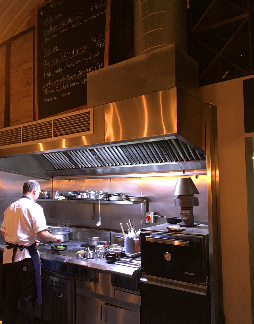 The Open Kitchen at Bar Douro
