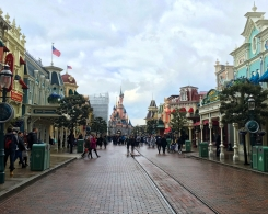 Main Street USA at Disneyland Paris