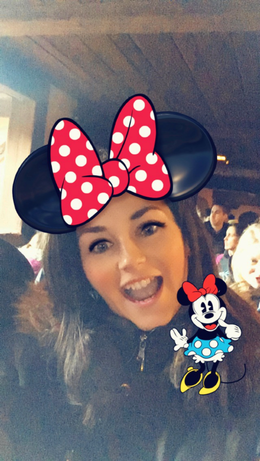 The Snapchat Minnie Lens