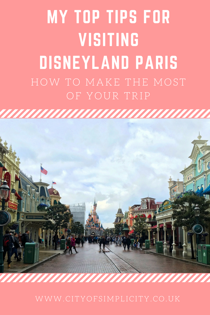 Top tips for visiting Disneyland Paris: where to stay in Disneyland Paris, things to do in Disneyland Paris, getting the best castle photo in Disneyland Paris. #disneylandparis #disney #traveltips #travelblog