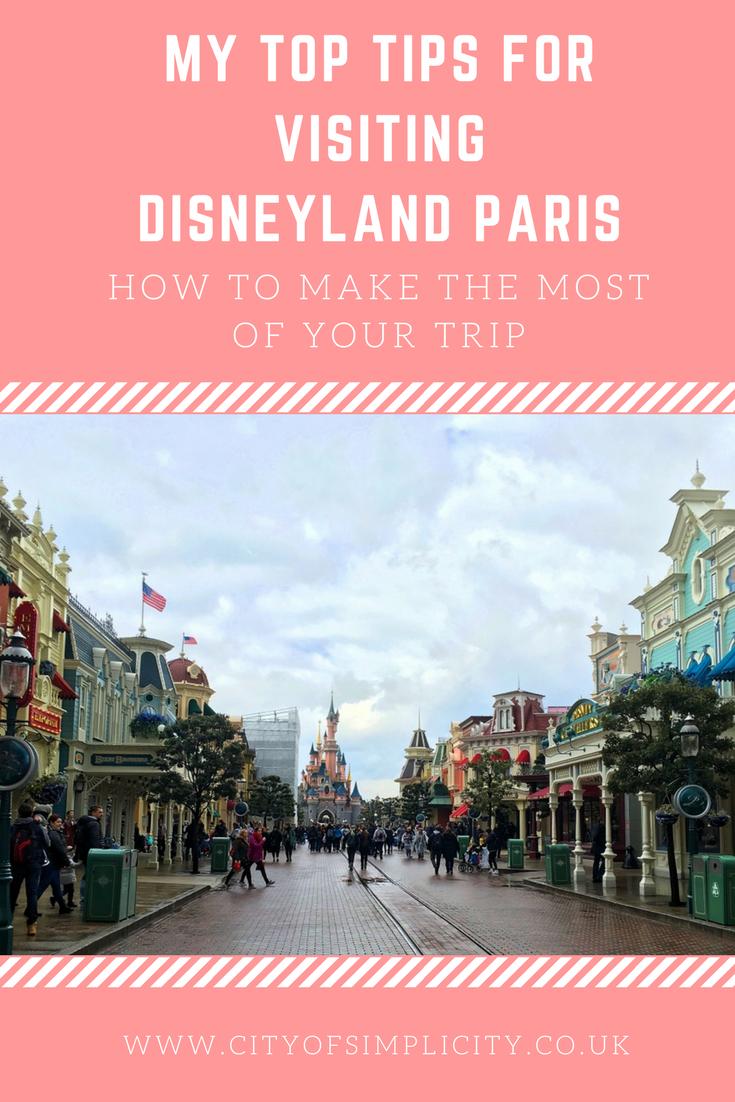 Top tips for visiting Disneyland Paris: where to stay in Disneyland Paris, things to do in Disneyland Paris, getting the best castle photo in Disneyland Paris. #disneylandparis #disney #traveltips #travelblog