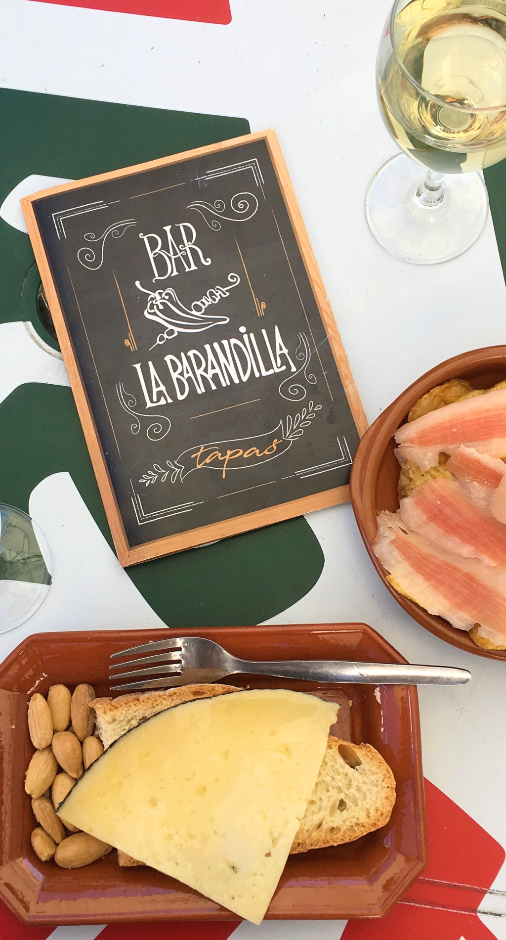 Tapas at Bar La Barandilla