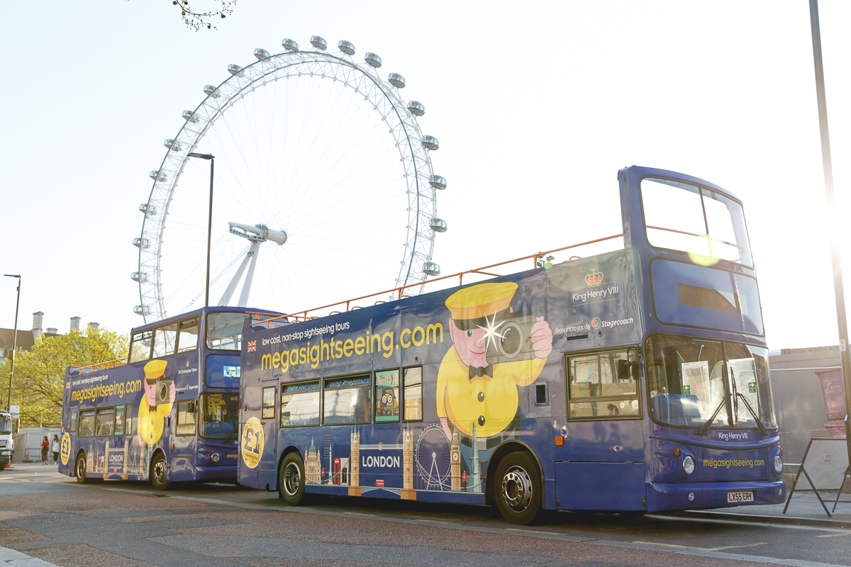 The megasightseeing.com Buses (photo credit: megabus.com)