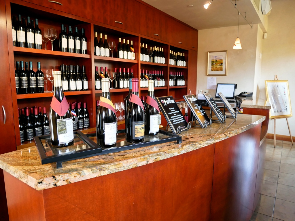 The Tasting Room at the Nicholson Ranch