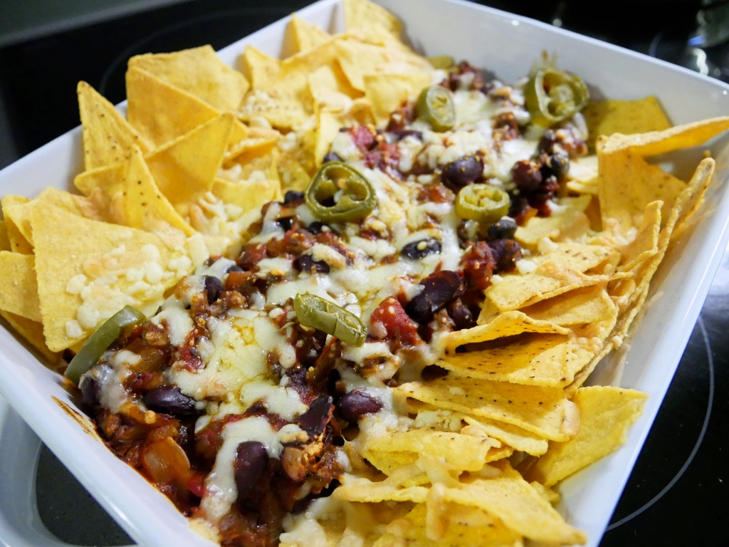 Loaded Vegetarian Chilli Nachos