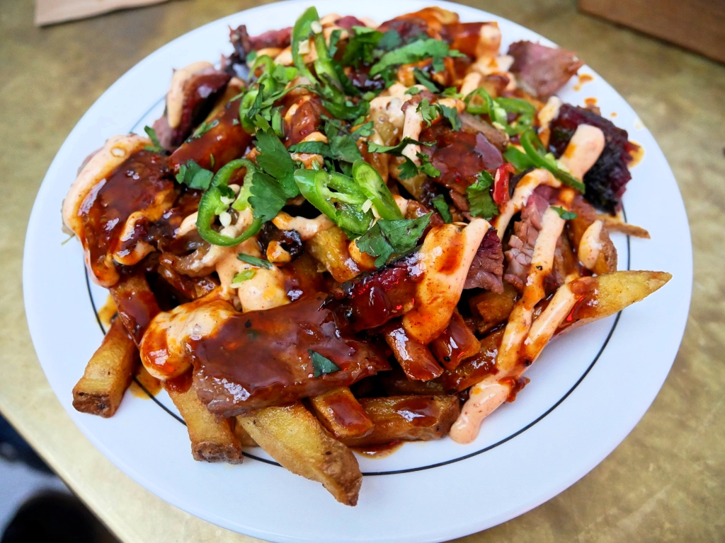 The Brisket Poutine from Hot Box