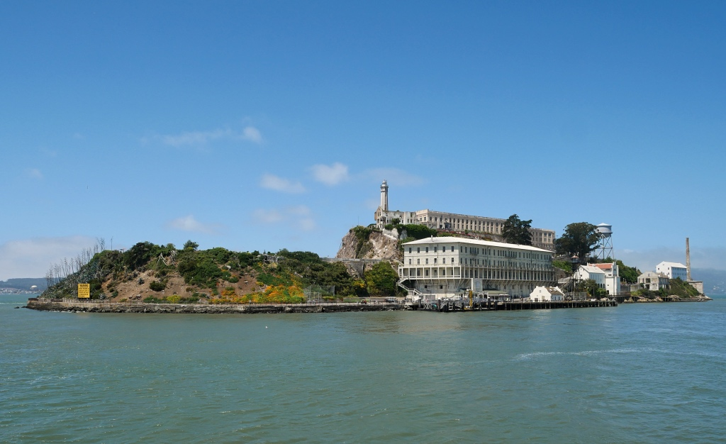 Alcatraz Island from the ferry